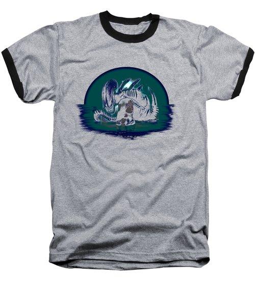 Newt In Danger Baseball T-Shirt