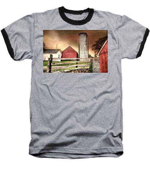 The Newtown Silo Baseball T-Shirt