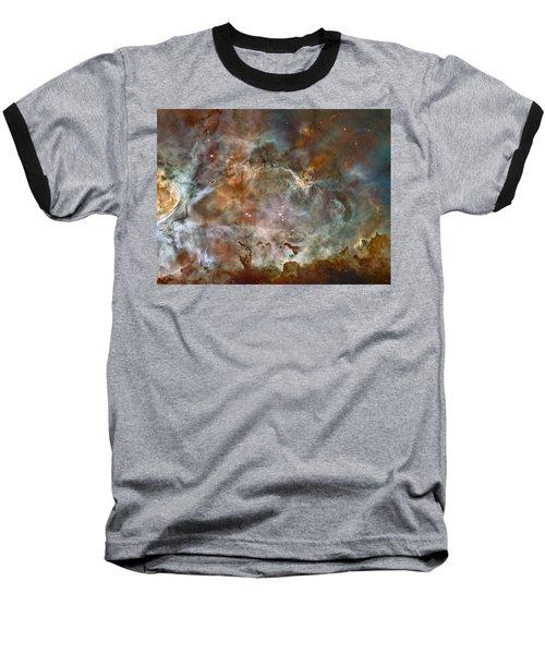 Ngc 3372 Taken By Hubble Space Telescope Baseball T-Shirt