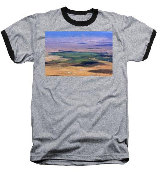 Ngorongoro Crater Tanzania Baseball T-Shirt