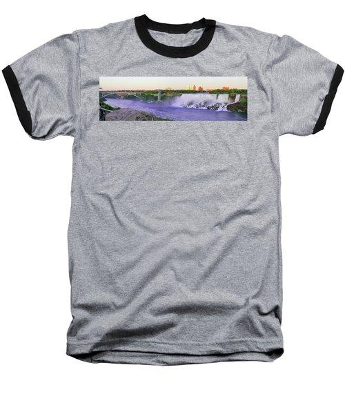 Niagara Falls At Dusk Baseball T-Shirt