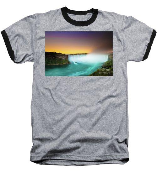 Niagara Falls  Baseball T-Shirt by Mariusz Czajkowski