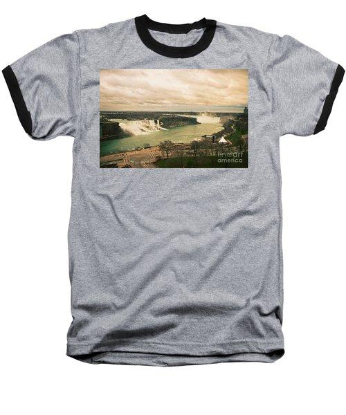 Baseball T-Shirt featuring the photograph Niagara Falls by Mary Machare