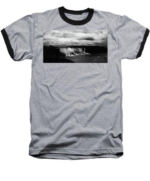 Niagara Falls - Small Falls Baseball T-Shirt
