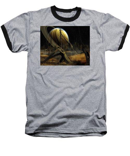Nibiru Baseball T-Shirt by Mark T Allen