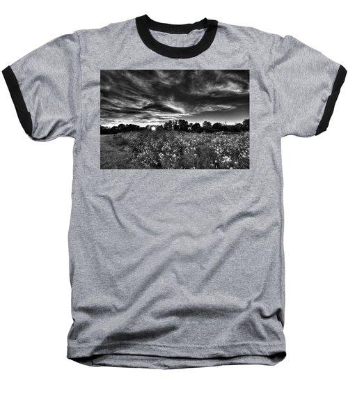 Nice And Cloudy At Sunset Baseball T-Shirt