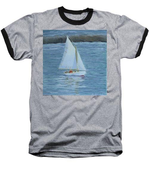 Nice Day For A Sail Baseball T-Shirt