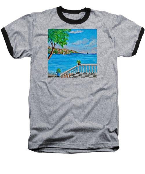Nice View Baseball T-Shirt