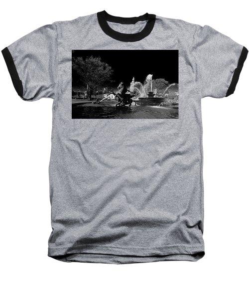 Nichols Fountain Baseball T-Shirt