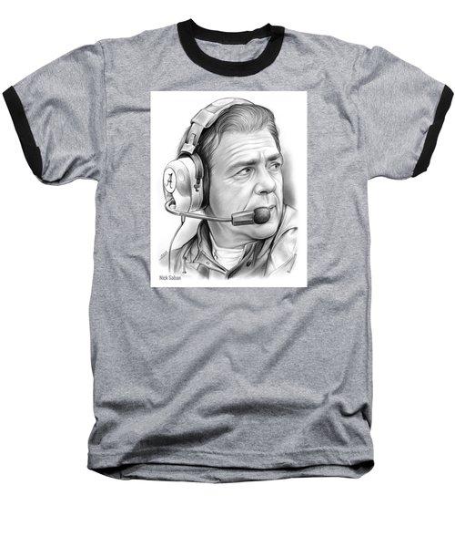 Nick Saban Baseball T-Shirt
