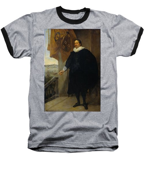 Nicolaes Van Der Borght, Merchant Of Antwerp Baseball T-Shirt