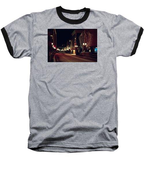 Nicollet Mall Christmas Baseball T-Shirt
