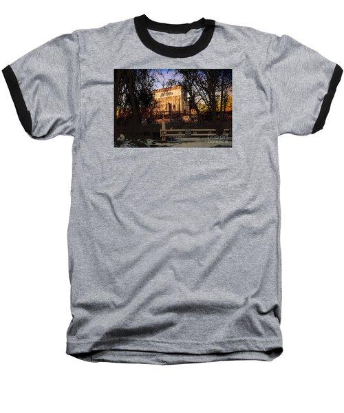 Nidera Baseball T-Shirt by David Blank