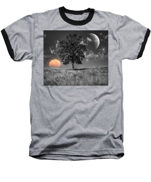 Night And Day Baseball T-Shirt