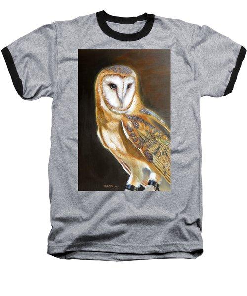 Night Angel Baseball T-Shirt by Phyllis Beiser