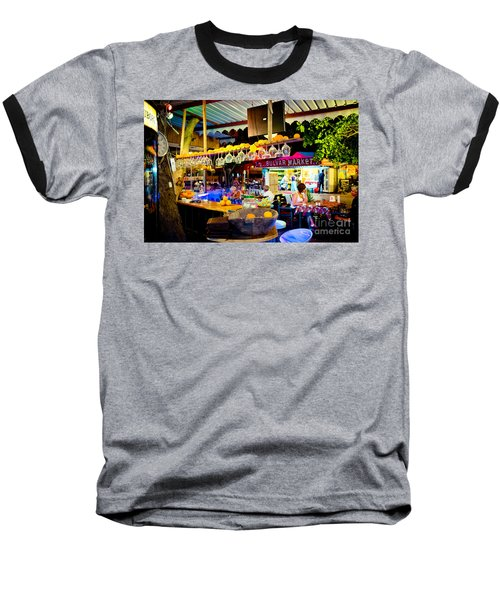 Night At Bar Baseball T-Shirt