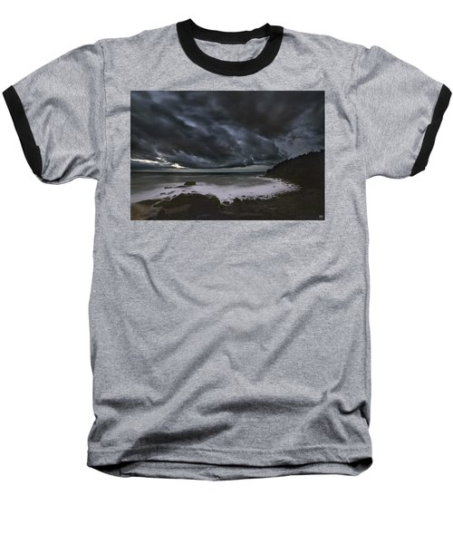 Night At Boulder Beach Baseball T-Shirt