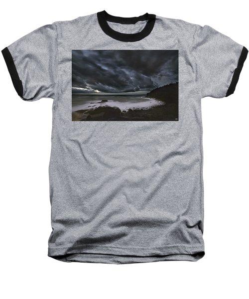 Night At Boulder Beach Baseball T-Shirt