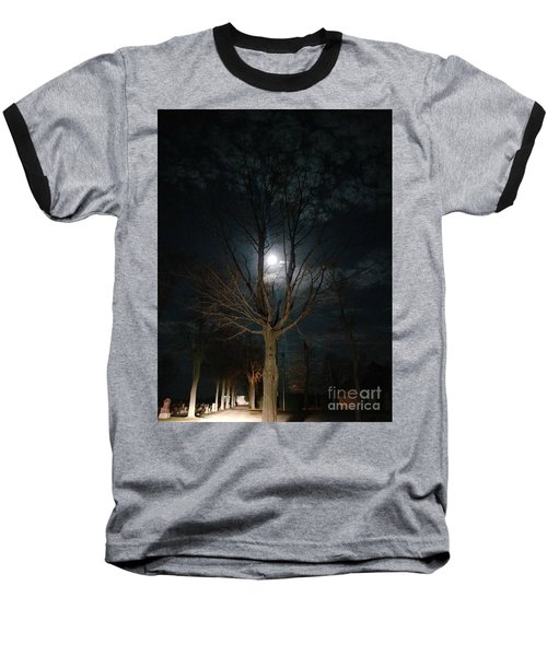 Night At The Graveyard Baseball T-Shirt