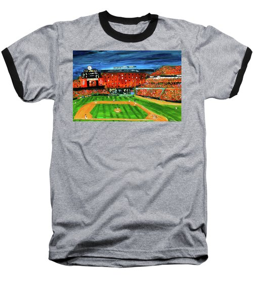 Night At The Yard Baseball T-Shirt