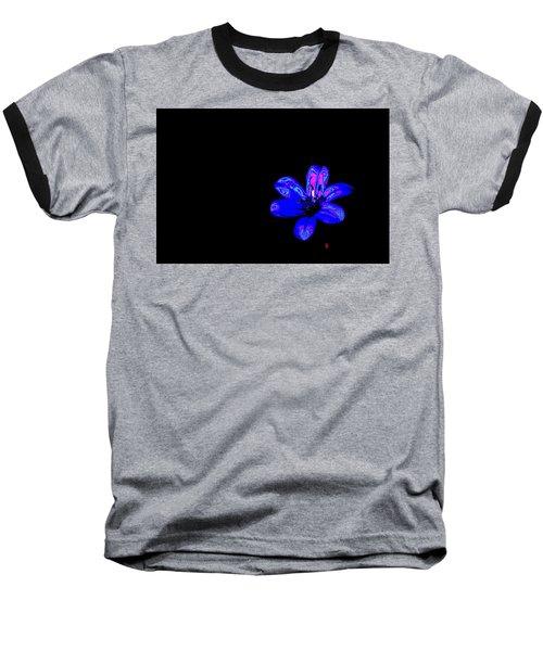 Night Blue Baseball T-Shirt by Richard Patmore
