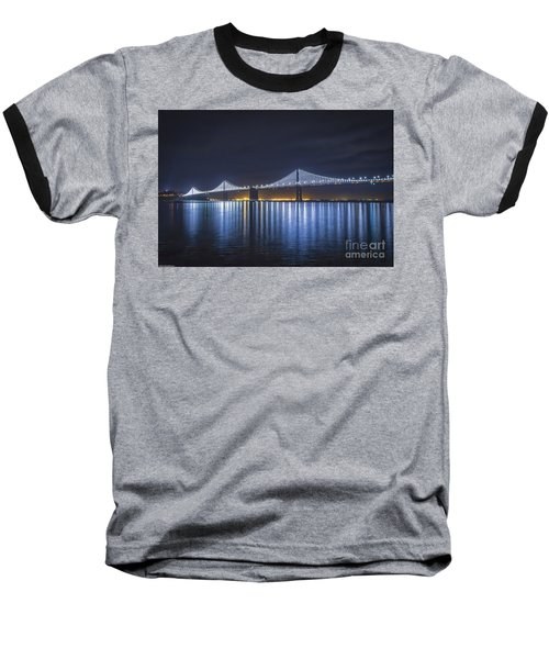 Night Bridge Baseball T-Shirt