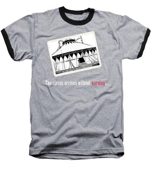 Night Circus Tee Black Baseball T-Shirt