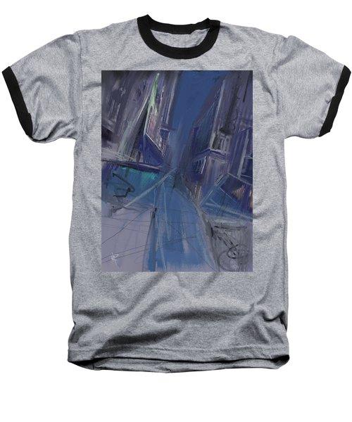 Night City Baseball T-Shirt