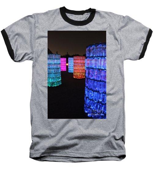 Night Color Baseball T-Shirt by Natalie Ortiz
