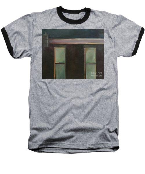 Night Baseball T-Shirt by Daun Soden-Greene