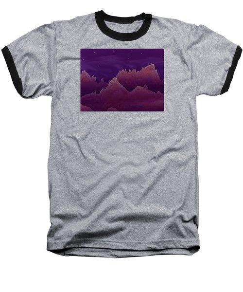 Night Baseball T-Shirt by Dr Loifer Vladimir