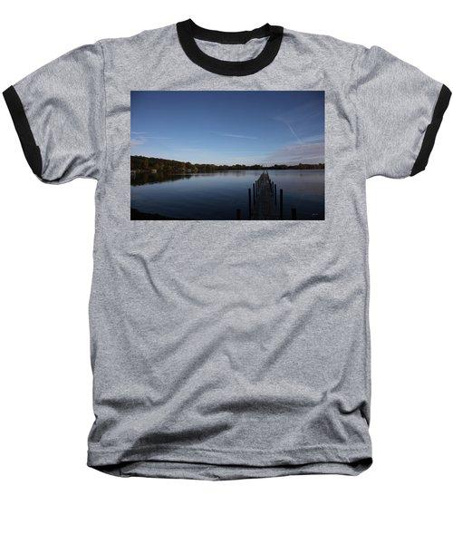 Night Fall Baseball T-Shirt