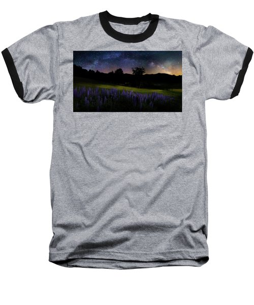 Baseball T-Shirt featuring the photograph Night Flowers by Bill Wakeley