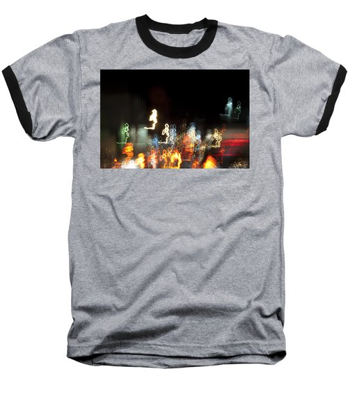 Night Forest - Light Spirits Limited Edition 1 Of 1 Baseball T-Shirt