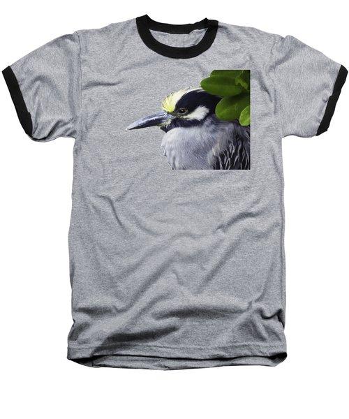 Night Heron Transparency Baseball T-Shirt