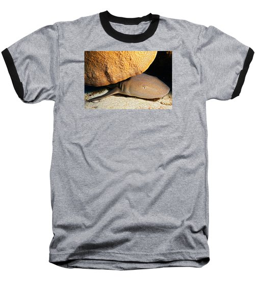 Baseball T-Shirt featuring the photograph Nocturnal Hunter by Aaron Whittemore