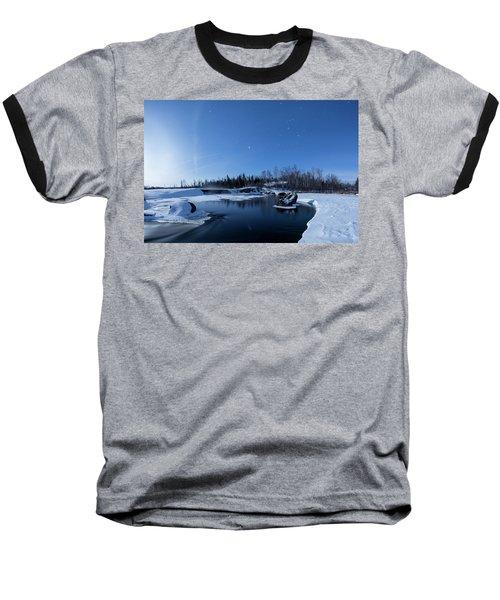 Night Into Day Baseball T-Shirt