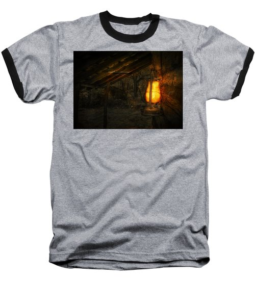 Night Is Falling Baseball T-Shirt