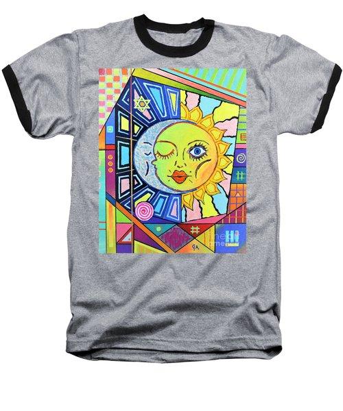Night Kisses Daylight Baseball T-Shirt by Jeremy Aiyadurai