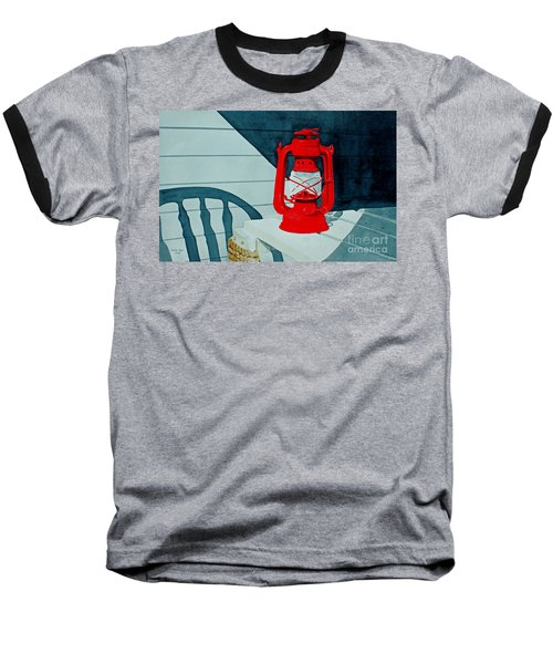 Night Light Baseball T-Shirt