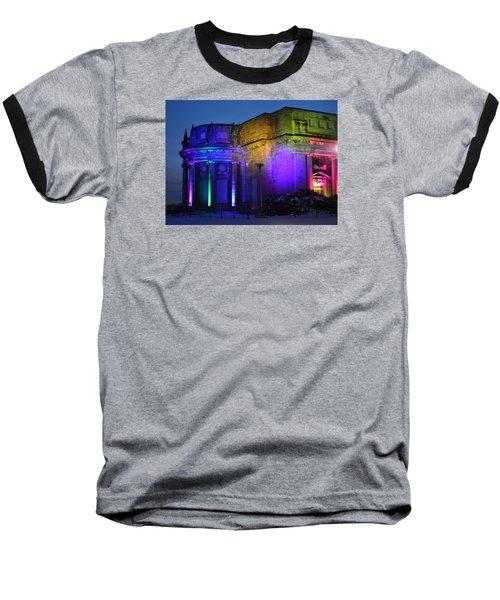 Night Lights Niagara Baseball T-Shirt