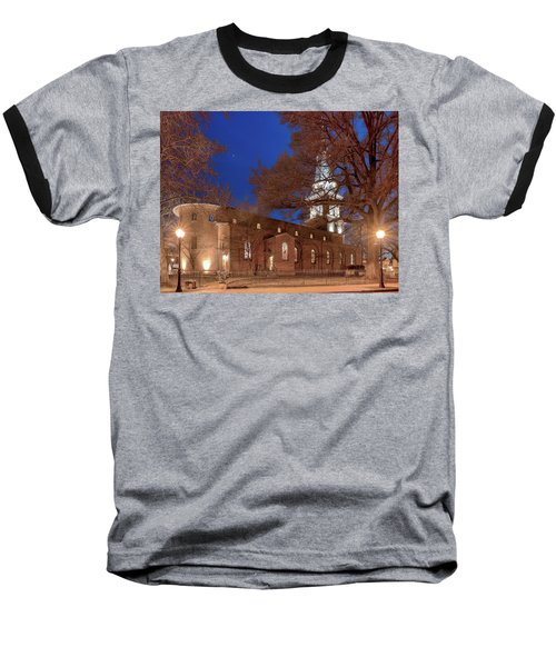 Night Lights St Anne's In The Circle Baseball T-Shirt