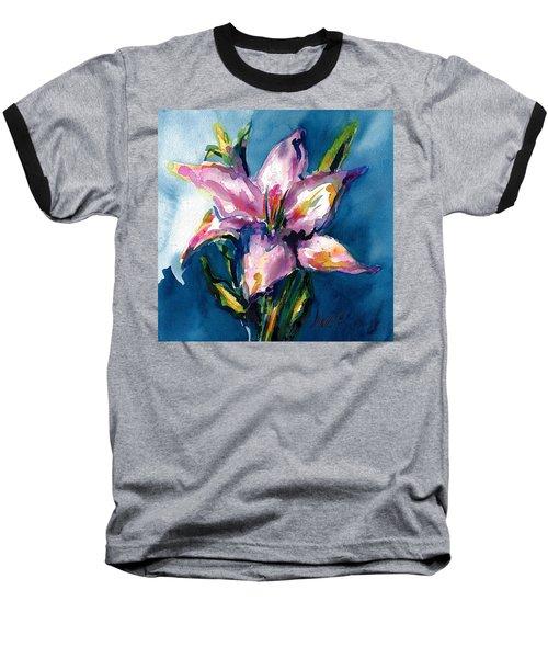 Night Lily Baseball T-Shirt