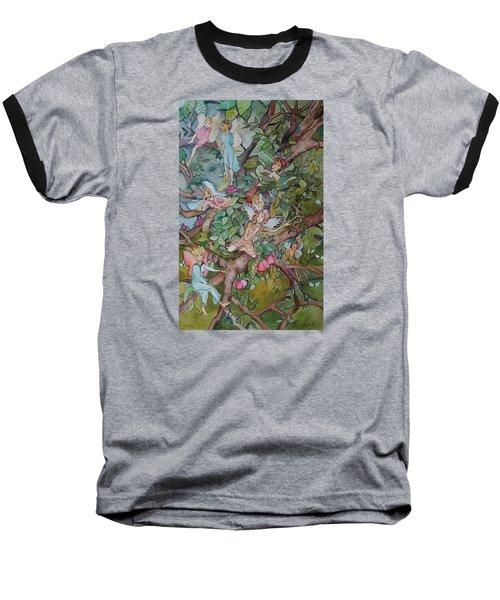 Night Night Baseball T-Shirt by Claudia Cole Meek