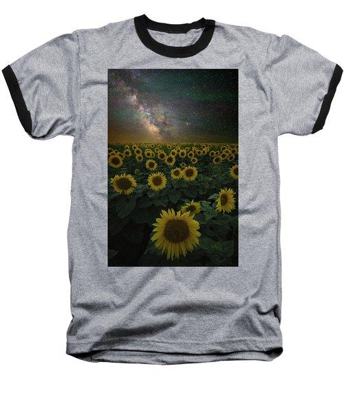 Night Of A Billion Suns Baseball T-Shirt