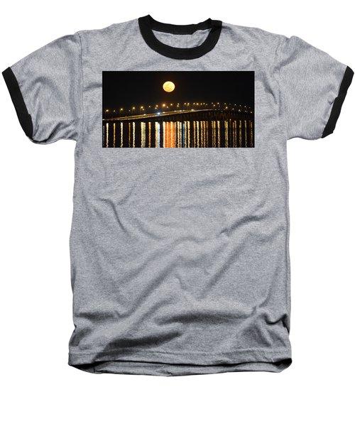 Night Of Lights Baseball T-Shirt by Gary Smith