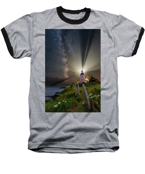 Night Over West Quoddy Baseball T-Shirt
