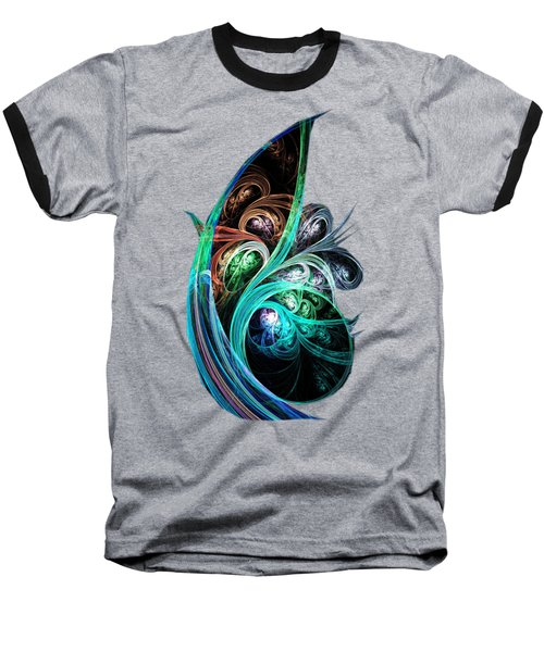 Night Phoenix Baseball T-Shirt