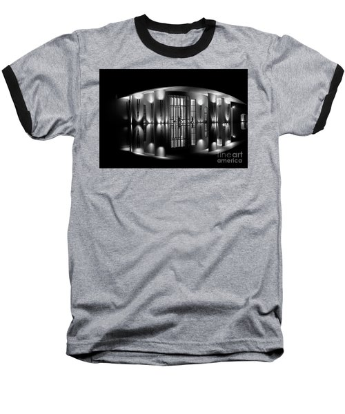Night Reflection Baseball T-Shirt