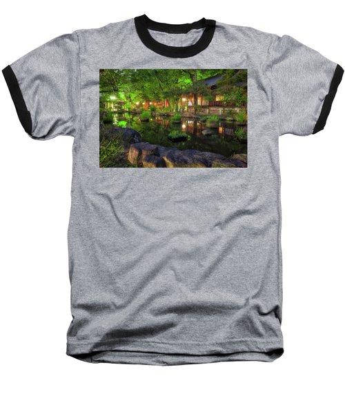 Night Reflections Baseball T-Shirt
